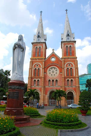 cathedral in Ho Chi Minh City