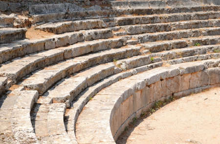 playhouse: the theatre at Delphi, Greece