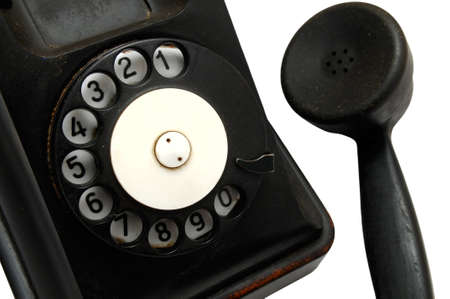 old telephone close-up Stock Photo - 4431423
