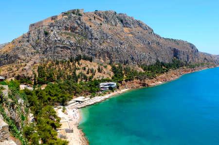 peloponnes: the coast of Peloponnes, Greece