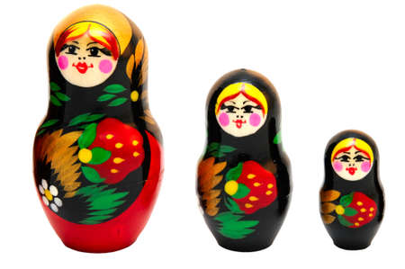 russian Matryoshka toys photo