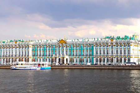 Winter Palace / Hermitage, St Petersburg, Russia Stock Photo - 4970428