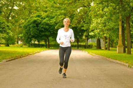 running girl Stock Photo - 5266304
