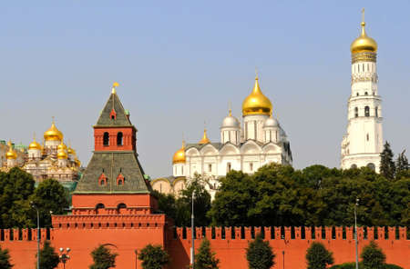 the view of Kremlin, Moscow photo