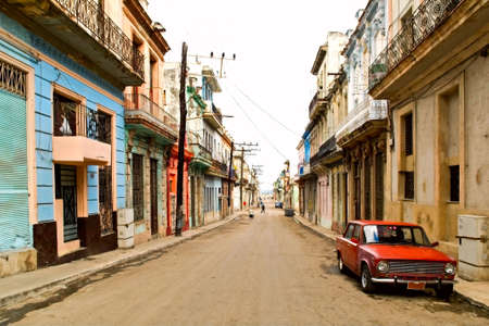 Street in center of Havana, Cuba