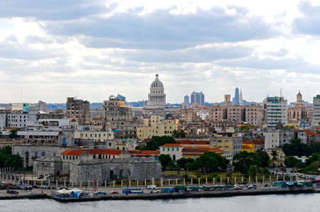 general view of Havana, Cuba