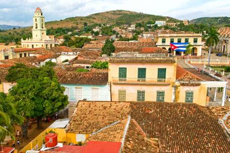 General view of Trinidad, Cuba photo