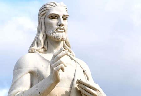 Estatua de Cristo en la Habana, Cuba  Foto de archivo - 6371274