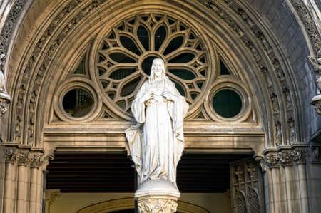facade of catholic cathedral, Cuba photo