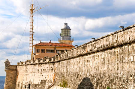 El Morro fortress in Havana, Cuba photo