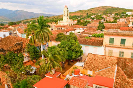 the view of Trinidad, Cuba