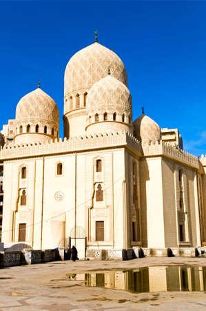 alexandria egypt: medieval mosque in Alexandria, Egypt