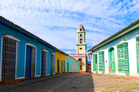 street of Trinidad, Cuba photo