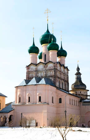 the church inside Rostov Kremlin, Russia Stock Photo - 6906585