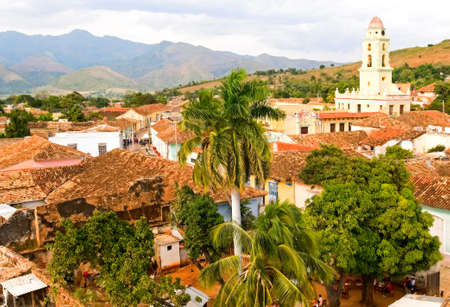 view of Trinidad, Cuba photo