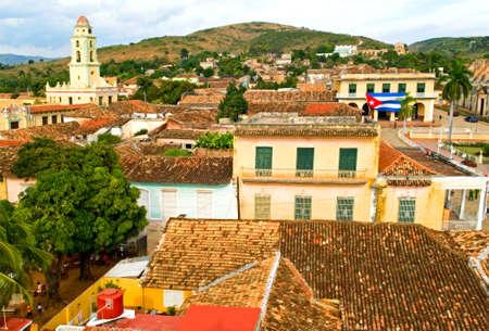the view of Trinidad, Cuba photo