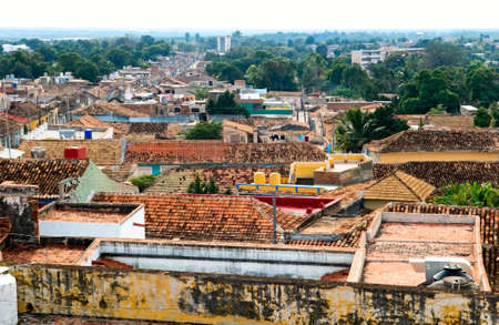 the roofs of Trinidad, Cuba photo