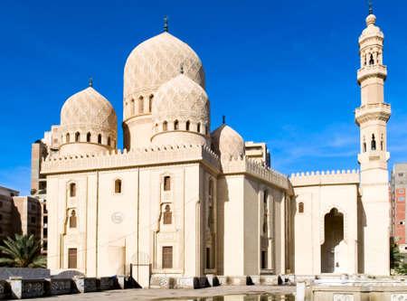alexandria egypt: mosque in Alexandria, Egypt Stock Photo
