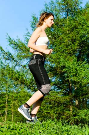 running girl  Stock Photo - 7587771