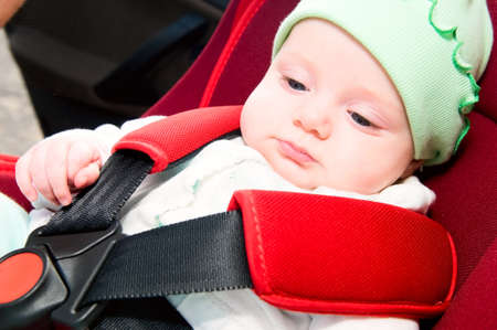 child in car safety seat  Stock Photo - 7842580