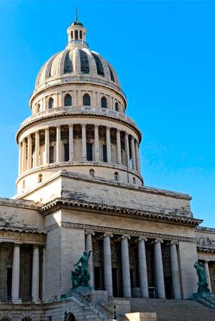 capitolio: Capitolio in Havana, Cuba Stock Photo