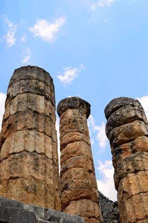 ancient columns photo