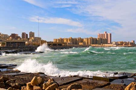 alexandria egypt: city