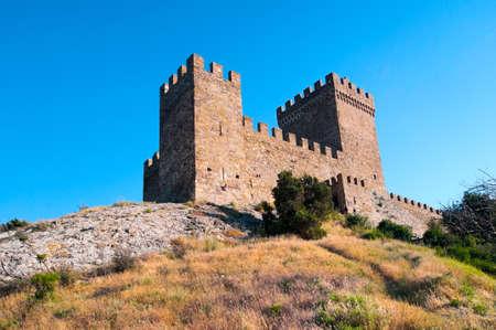 castle walls photo
