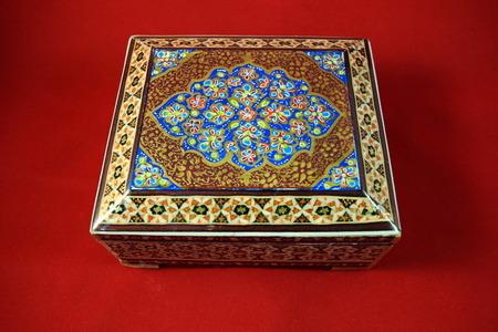 esfahan: Khaatam Khatam kari Handicraft made in Esfahan Naqshe Jahan Square Iran