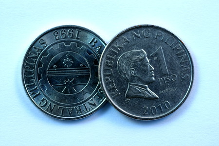 peso: Closeup Philipine Peso coins