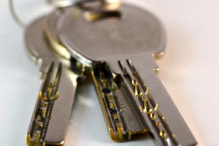 Close up keys and lock Cylinder