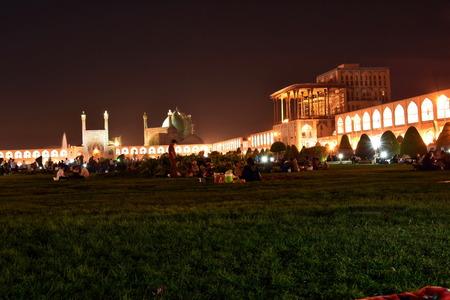 safavid: Naqsh-e Jahan Square Bazaar,Esfahan, Iran