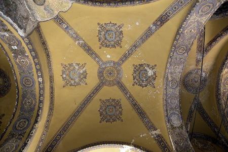 The Hagia Sophia, Hagia Sofia or Ayasofya mosque and museum Istanbul, Turkey Editorial