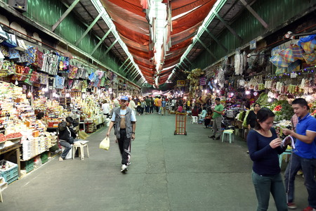 BAGUIO CITY, PHILIPPINES, DECEMBER 14, 2017, Baguio City Public Market, main local market, Philippines