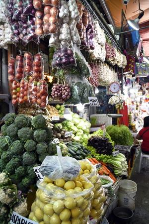 Baguio City Public Market, main local market, Philippines Stock Photo