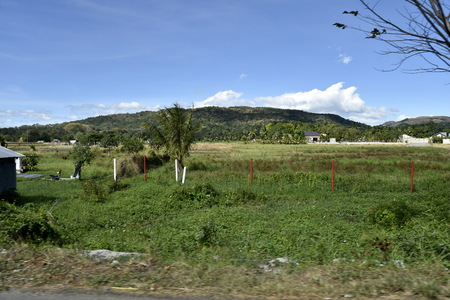 Santiago City, Isabela, Philippines, December 21, 2017, Road view from Santiago city to Manila Editorial