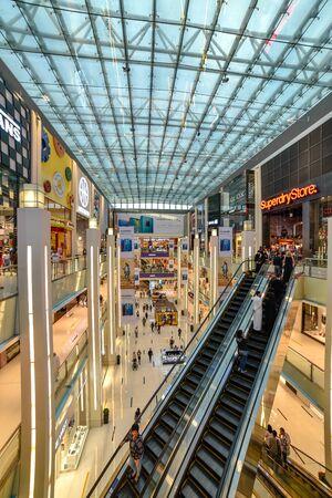 Dubai, United Arab Emirates – November 03, 2018, The Dubai Mall located in Downtown Dubai, beside the Burj Khalifa, biggest Mall in UAE, With a total internal floor area of 5.9 million sq ft.