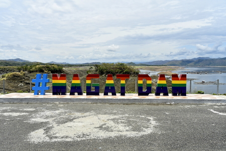 Around the Magat Dam located in the Cagayan city, Isabela, Philippines