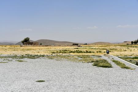 Pasargadae, Shiraz, Fars Province, Iran, June 22, 2019 Editoriali