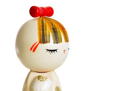 wooden doll photo
