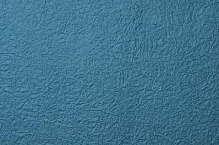 crushing: blue paper