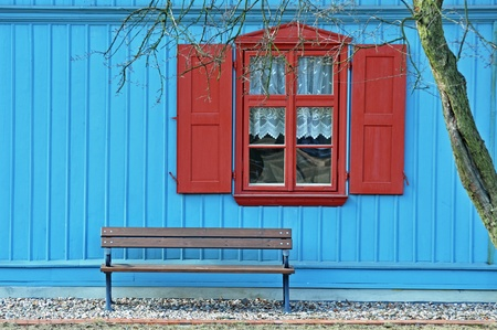 window and bench