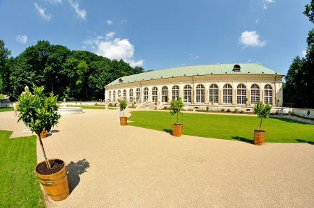 polska: Royal Baths Park in Warsaw