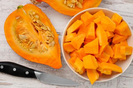 pumpkin: calabaza  Foto de archivo