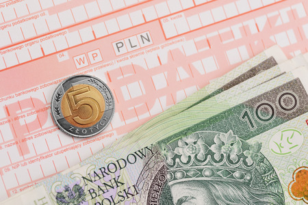 to polish: Polish Tax Stock Photo