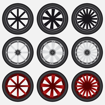 Wheel Stock Vector - 16904866