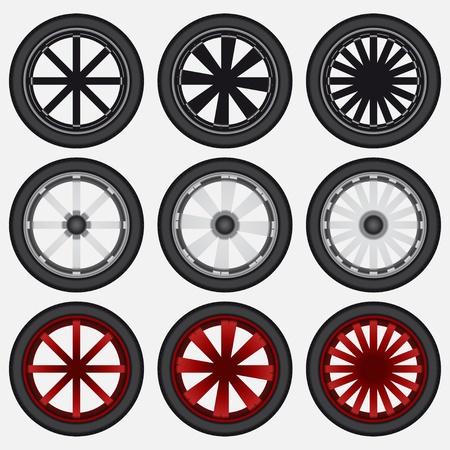 Wheel Stock Vector - 16904866