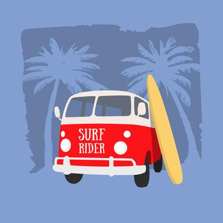 Surf Rider t-shirt design