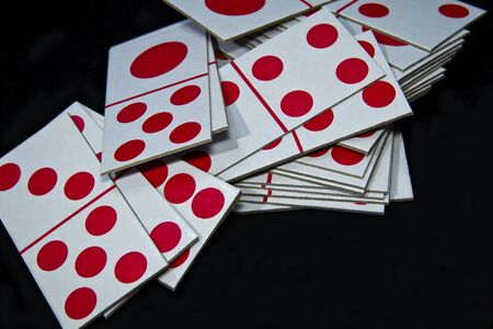A set of Domino playing card picture