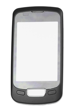 New mobile phone with large touch-screen Stock Photo - 9097288